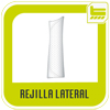 rejilla lateral tuga wear